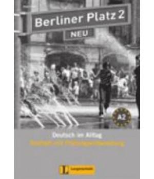 Тести Berliner Platz 2 NEU Testheft mit Prüfungsvorbereitung 2 + Audio-CD