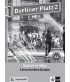 Книга для вчителя Berliner Platz 2 NEU Lehrerhandreichungen