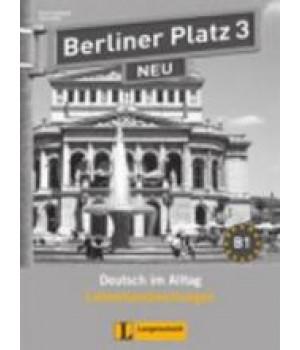 Книга для вчителя Berliner Platz 3 NEU Lehrerhandreichungen