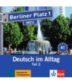 Диск Berliner Platz 1 NEU Audio-CD zum Lehrbuch, Teil 2
