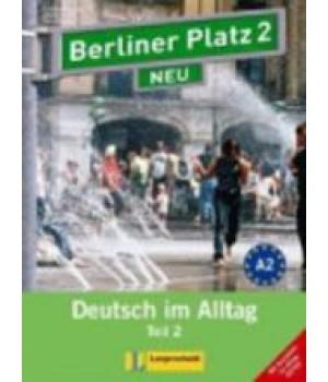 """Підручник Berliner Platz 2 NEU Lehr- und Arbeitsbuch 2, Teil 2 + Audio-CD und """"Im Alltag EXTRA"""""""