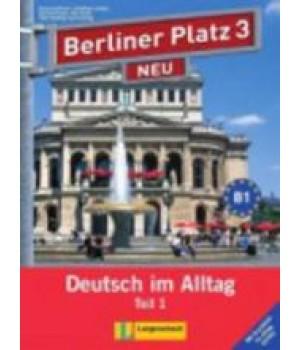"""Підручник Berliner Platz 3 NEU Lehr- und Arbeitsbuch Teil 1 + Audio-CD und """"Im Alltag EXTRA"""""""