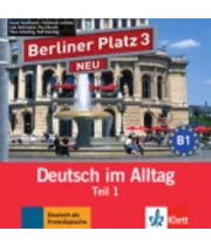 Диск Berliner Platz 3 NEU Audio-CD zum Lehrbuch, Teil 1