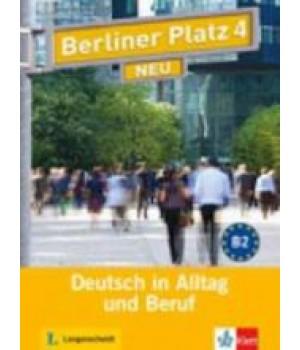 Підручник Berliner Platz 4 NEU Lehr- und Arbeitsbuch + Audio-CD