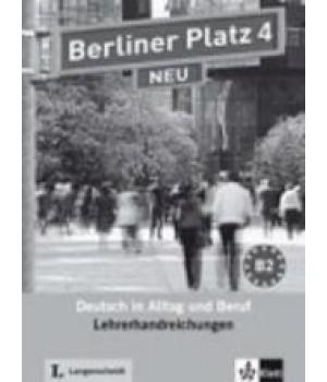 Книга для вчителя Berliner Platz 4 NEU Lehrerhandreichungen