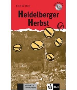 Книга для читання Heidelberger Herbst (Stufe 2) Buch + CD