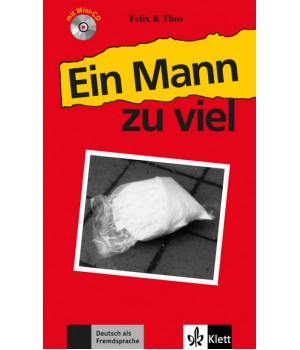 Книга для читання Ein Mann zu viel (Stufe 1) Buch + CD