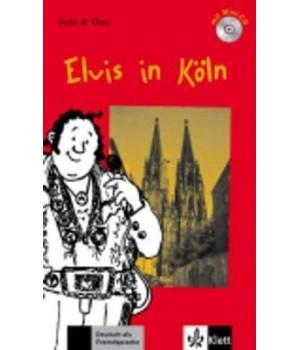 Книга для читання Elvis in Köln (Stufe 1) Buch + CD