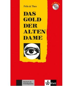 Книга для читання Das Gold der alten Dame (Stufe 2) Buch + CD
