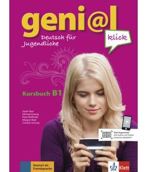 Підручник geni@l klick B1 Kursbuch mit 2 Audio-CDs