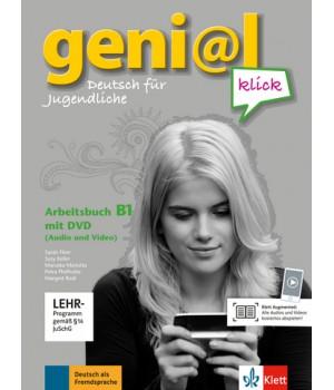 Робочий зошит geni@l klick B1 Arbeitsbuch mit DVD-ROM (Audio und Video)