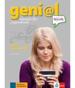 Книга для вчителя geni@l klick B1 Lehrerhandbuch mit integriertem Kursbuch