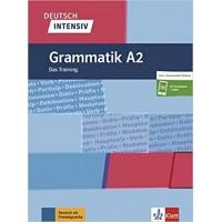 Граматика Deutsch intensiv Grammatik A2, Das Training, Buch + online