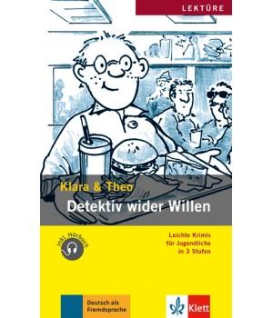 Книга для читання Detektiv wider Willen (Stufe 1) Buch + CD