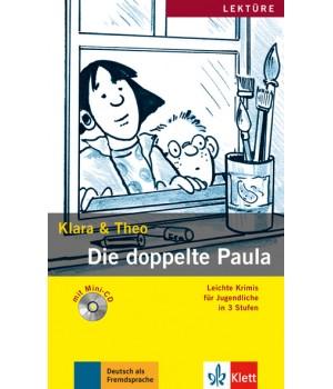 Книга для читання Die doppelte Paula (Stufe 3) Buch + CD