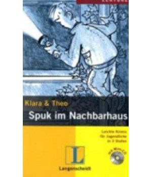 Книга для читання Spuk im Nachbarhaus (Stufe 3) Buch + CD