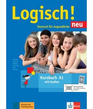 Підручник Logisch! neu A1 Kursbuch mit Audios zum Download