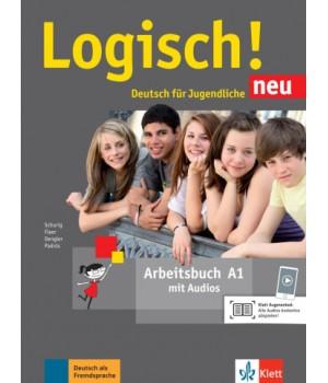 Робочий зошит Logisch! neu A1 Arbeitsbuch mit Audios zum Download