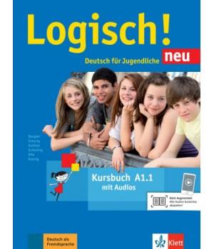 Підручник Logisch! neu A1.1 Kursbuch mit Audios zum Download