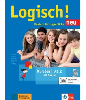 Підручник Logisch! neu A1.2 Kursbuch mit Audios zum Download
