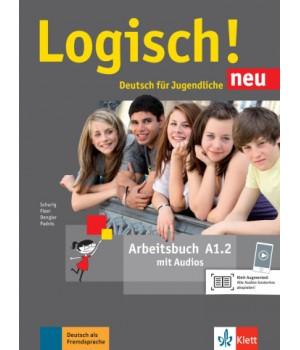 Робочий зошит Logisch! neu A1.2 Arbeitsbuch mit Audios zum Download