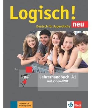Книга для вчителя Logisch! neu A1 Lehrerhandbuch mit DVD
