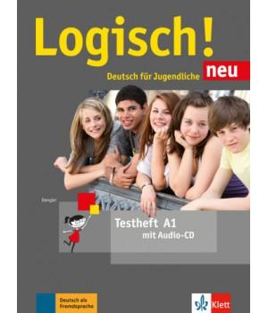 Тести Logisch! neu A1 Testheft mit Audio-CD