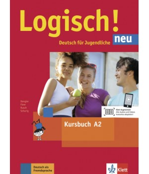 Підручник Logisch! neu A2 Kursbuch mit Audios zum Download