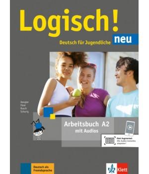 Робочий зошит Logisch! neu A2 Arbeitsbuch mit Audios zum Download