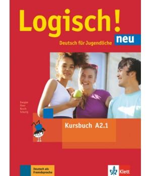 Підручник Logisch! neu A2.1 Kursbuch mit Audios zum Download