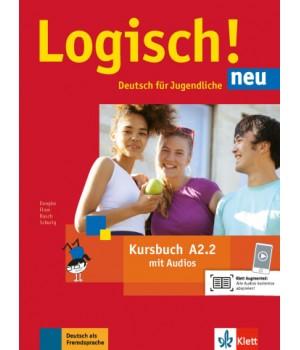 Підручник Logisch! neu A2.2 Kursbuch mit Audios zum Download