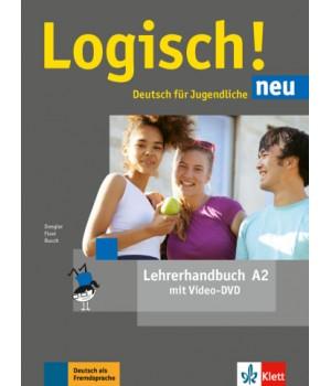 Книга для вчителя Logisch! neu A2 Lehrerhandbuch mit DVD