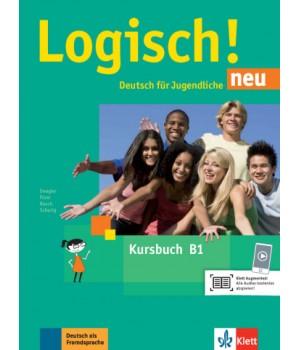 Підручник Logisch! neu B1 Kursbuch mit Audios zum Download