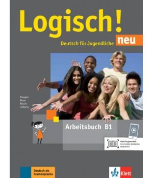 Робочий зошит Logisch! neu B1 Arbeitsbuch mit Audios zum Download