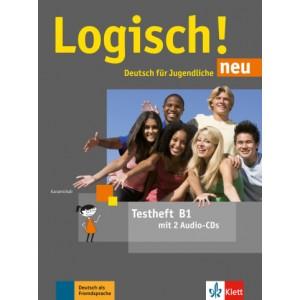 Тести Logisch! neu B1 Testheft mit Audio-CD