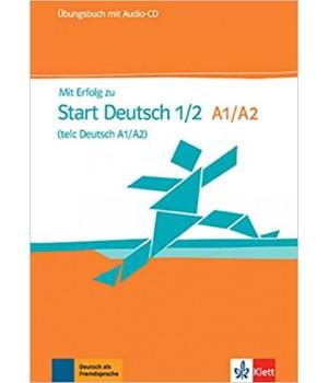 Вправи Mit Erfolg zu Start Deutsch 1/2 (A1/A2), Übungsbuch + Audio-CD