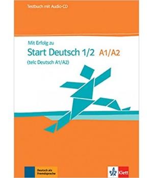 Тести Mit Erfolg zu Start Deutsch 1/2 (A1/A2), Testbuch + Audio-CD