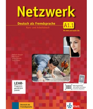 Netzwerk A1 Kurs- und Arbeitsbuch, Teil 1 + Audio-CDs + DVD