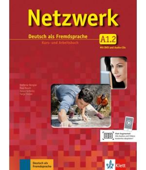Netzwerk A1 Kurs- und Arbeitsbuch, Teil 2 + Audio-CDs + DVD