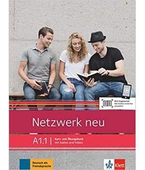 Підручник Netzwerk neu A1.1. Kurs- und Übungsbuch mit Audios und Videos