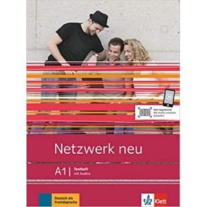 Тести Netzwerk neu A1, Testheft mit Audios