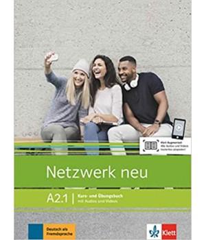 Підручник Netzwerk neu A2.1. Kurs- und Übungsbuch mit Audios und Videos