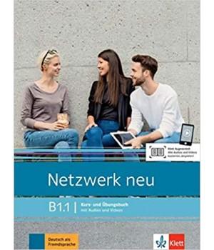 Підручник Netzwerk neu B1.1. Kurs- und Übungsbuch mit Audios und Videos