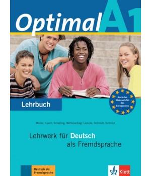 Підручник Optimal A1 Lehrbuch
