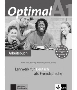 Робочий зошит Optimal A1 Arbeitsbuch+CD