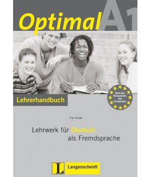 Книга для вчителя Optimal A1 Lehrerhandbuch+Lehrer-CD-ROM