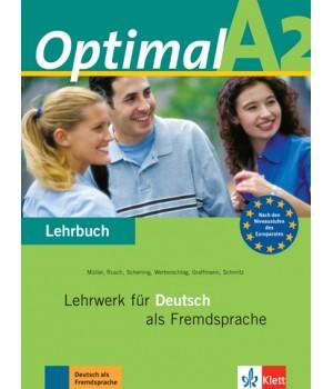 Підручник Optimal A2 Lehrbuch