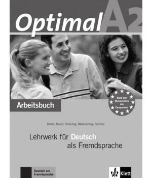 Робочий зошит Optimal A2 Arbeitsbuch+CD