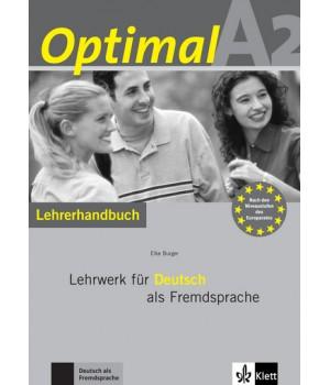 Книга для вчителя Optimal A2 Lehrerhandbuch+Lehrer-CD-ROM
