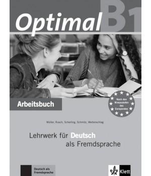 Робочий зошит Optimal B1 Arbeitsbuch+CD